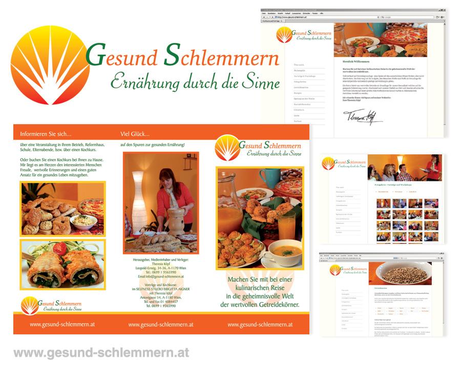 Webdesign für Kochkurse