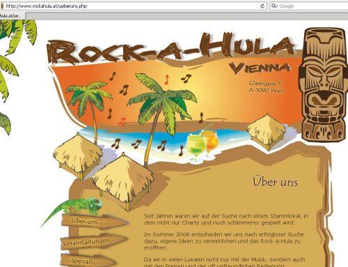 Webdesign für Wiener In-Lokal