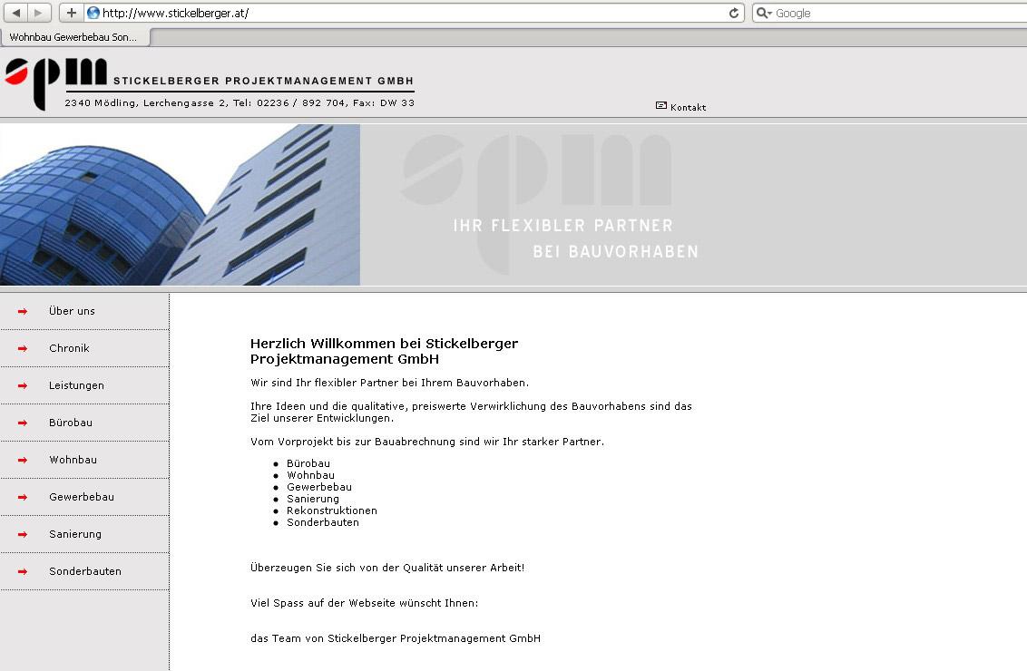 Webdesign für Architektenbüro