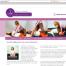 Webseite für Masseurin