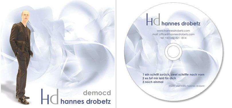 Entwurf von einem CD Cover