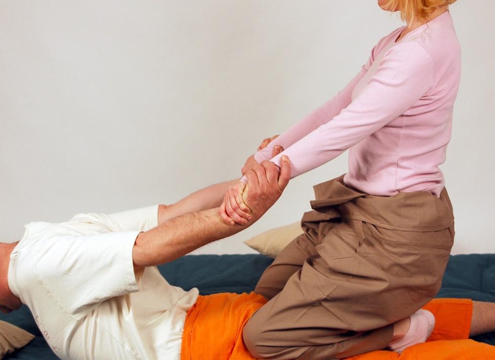 Themenfotos für Yoga Massage Webseite