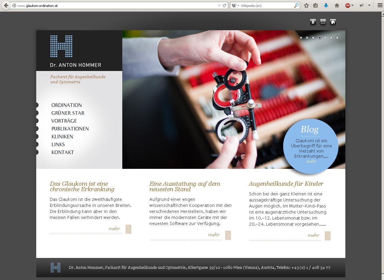 Webdesign mit dem CMS Drupal
