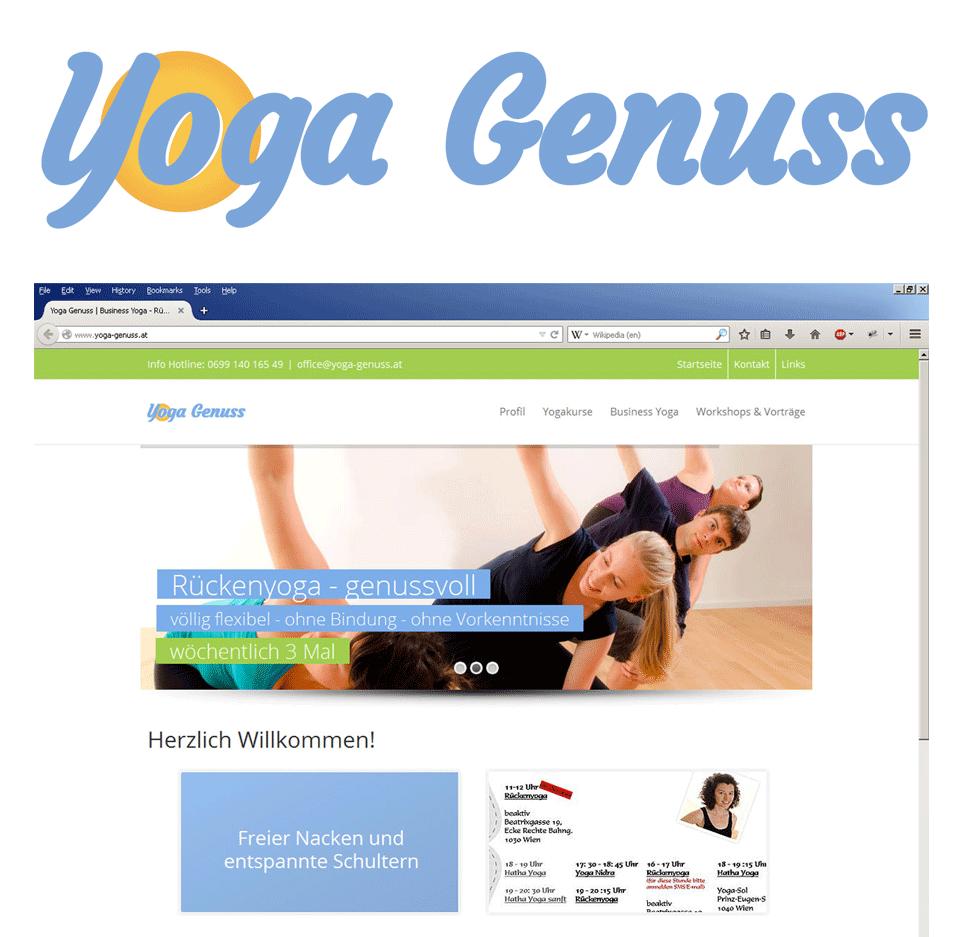 Schriftlogo Yogalehrerin