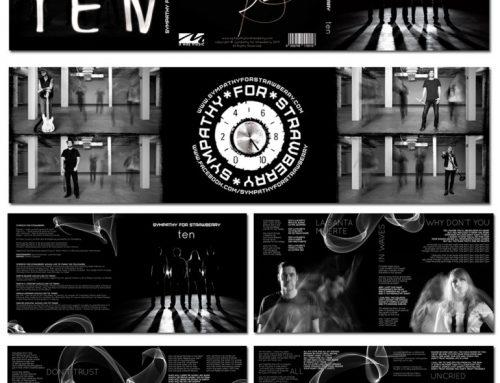 CD-Cover Design für Musikgruppe