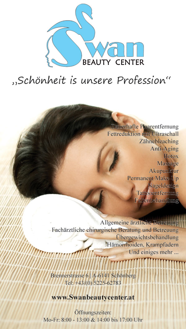 Plakat für Beauty Center