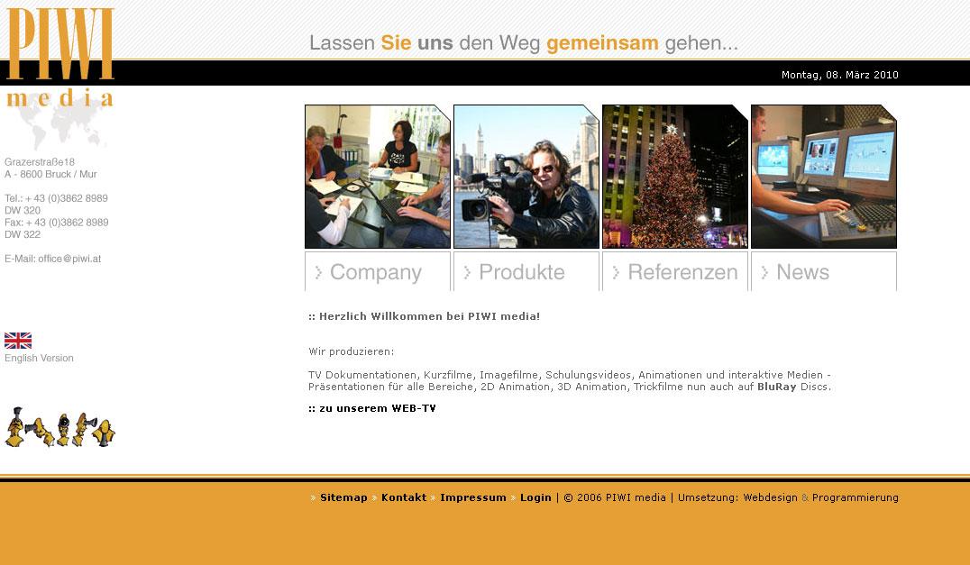Webdesign für Mediaunternehmen