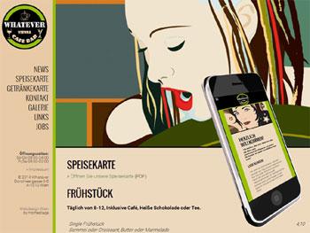 Neu: Webdesign für Bar