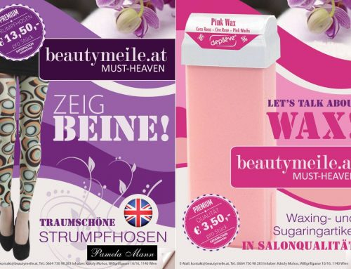 Flyer Design für Beautymeile