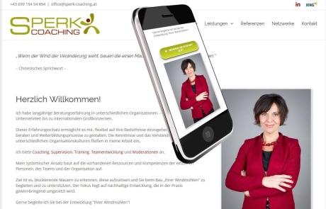 Webdesign für Supervisorin