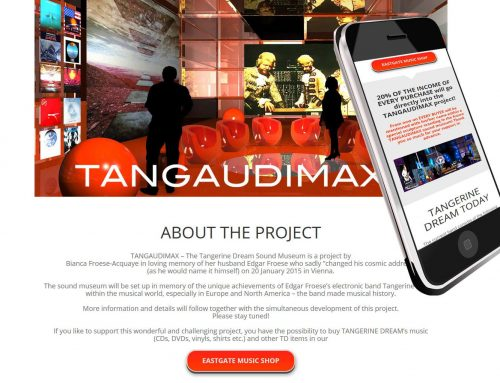 Webseite für Tangaudimax