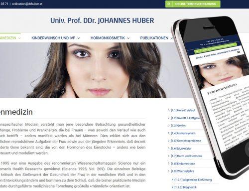Homepage für Frauenmediziner