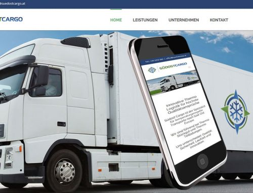 Webdesign Suedostcargo