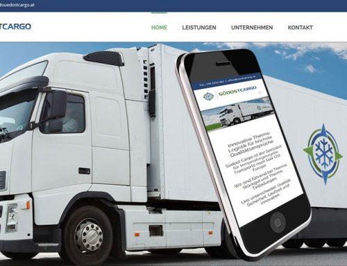 Webdesign Suedostcargo